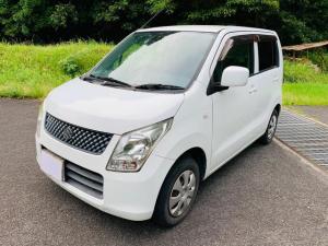 スズキ ワゴンR FX 4AT CDオーディオ ETC ユーザー買取 電動格納ミラー エアコン パワステ パワーウィンドウ 盗難防止システム 衝突安全ボディ ABS ホワイトカラー 運転席助手席エアバッグ