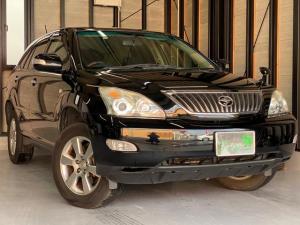 トヨタ ハリアー 240G Lパッケージアルカンターラセレクション 純正HDDナビ・バックカメラ・電動リアゲート・HIDヘッドライト・ETC・ユーザー買取車