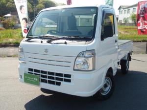 スズキ キャリイトラック KCエアコン・パワステ 4WD 5MT 走行距離22000km ラジオ