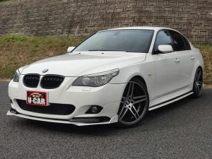 BMW 5シリーズ 525i Mスポーツパッケージ 純正ナビ・ETC・ハーフレザー・プッシュスタート