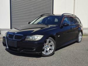BMW 3シリーズ 320iツーリング Mスポーツパッケージ 社外HDDナビ/ETC/17純正AW/Pスタート/Bカメラ/地デジTV/キーレス/ETC/天井内張垂れ無し/