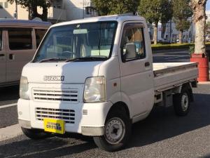 スズキ キャリイトラック KCエアコン・パワステ 5速MT ラジオ 最大積載量350kg ヘッドライトレベライザー 2WD