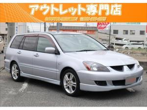 三菱 ランサーワゴン ラリーアート ユーザー様買取車/キーレス/16インチAW/CD
