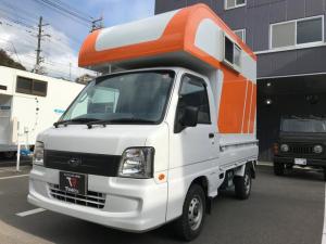 スバル サンバートラック  軽キャンピングカートリパル 標準(ソファ テーブル 照明)装備