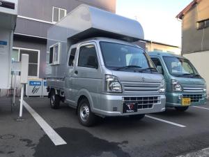 スズキ スーパーキャリイ X 軽キャンピングカートリパル クーラー装備