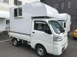 ダイハツ ハイゼットトラック スタンダード 軽キャンピングカートリパル キッチンカー 5MT 標準装備(LED照明 換気扇 ACコンセント)
