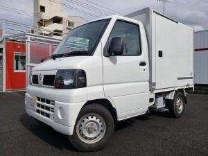 日産 NT100クリッパートラック DX 3速AT パワステ エアコン 冷蔵冷凍車25度から-5度設定 FM/AMラジオ