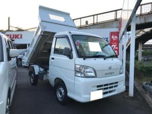 ダイハツ ハイゼットトラック 農用スペシャル PTOダンプ 4WD AC MT 軽トラック ホワイト