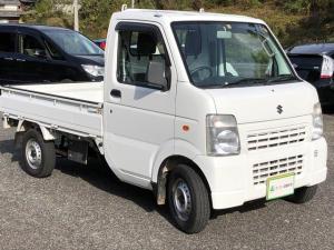 スズキ キャリイトラック KCエアコン・パワステ 4WD 5速MT 三方開 ホワイト