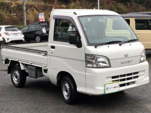 ダイハツ ハイゼットトラック 農用スペシャル 4WD 5速MT 三方開 CD ホワイト