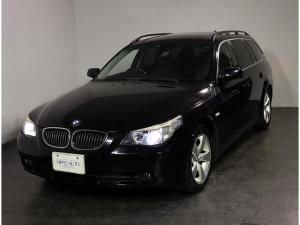 BMW 5シリーズ 525iツーリング ハイライン サンルーフ 黒革シート キセノンライト HDDナビフルセグTV