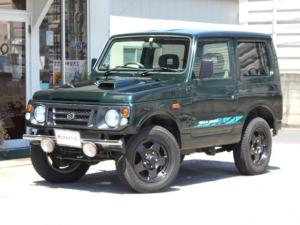 スズキ ジムニー ワイルドウインド 4WD アルミ16インチ 社外バンパー