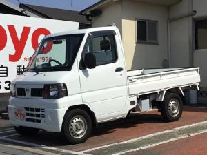 日産 クリッパートラック SD 4WD AT エアコン パワステ ラジオ 三方開