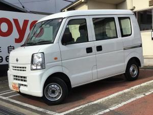 日産 NV100クリッパーバン DX AT ナビ付 パワステ