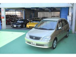 トヨタ ナディア Lタイプ ガレージ保管 ウッドパネル HID 走行8000K