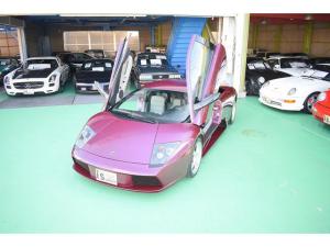 ランボルギーニ ムルシエラゴ eギア D車 ワンオーナー リフティング 保証書 整備手帳