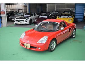 トヨタ MR-S Vエディション ワンオーナー ハードトップ付 本革 OP