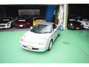トヨタ MR-S Sエディション OPトップ ワンオーナー 走行2千キロ