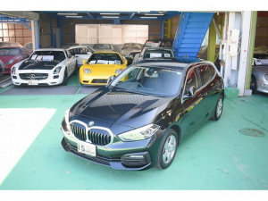 BMW 1シリーズ 118d プレイ エディションジョイ+ ディーゼルターボ D車 右H 6エアバック 追突防止システム 保証書