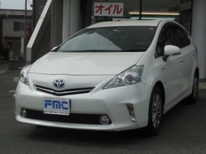 トヨタ プリウスアルファ S チューン ブラック  純正ナビ TV スマートキー