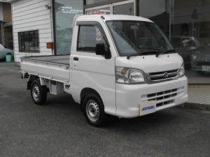 ダイハツ ハイゼットトラック エアコン・パワステ スペシャル 4WD 5速マニュアル 走行32800km