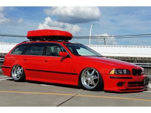 BMW 5シリーズ 525iツーリングハイライン ベージュ革シート パワーシート