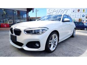 BMW 1シリーズ 118i Mスポーツ Mスポーツ1.5ターボ 18インチMスポーツアルミ アルピンホワイト ディーラーメンテナンス車 ワンオーナー 禁煙車 車庫保管車 BMW認定査定車両 メンテナンス保証