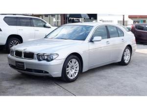 BMW 7シリーズ 740i 25thアニバーサリーエディション 745i(5名)サンルーフ 黒革 パワーシート シートヒーター エアーシート 純正HDDナビ イージークローザー パワートランク HIDヘッド ETC プッシュスタート