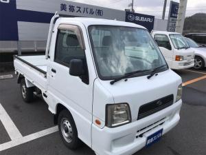 スバル サンバートラック TC 5MT 4WD エアコン パワステ付