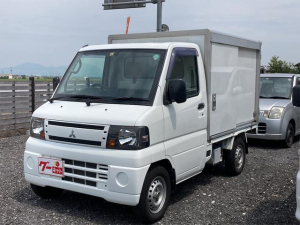 三菱 ミニキャブトラック  4WD パネルバン 軽トラック ホワイト エアコン パワステ オートマ