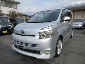 トヨタ ヴォクシー ZS ナビ リアフリップダウンモニター バックモニター フルセグ Bluetooth 17AW 左自動ドア