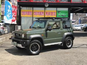 スズキ ジムニーシエラ JC 4WD 8インチナビ ワンオーナー バックカメラ