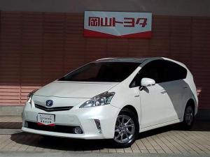 トヨタ プリウスアルファ S チューン ブラック HDDナビ・DVD再生機能・Bluetooth接続機能・スマ-トキ-・純正アルミ・ETC付き
