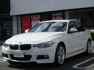 BMW 3シリーズ 320i Mスポーツ 後期LCIモデル インテリジェントセーフティ ACC HDDナビ Bluetooth USB 電動スポーツシート 純正18インチアルミホイール