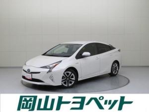 トヨタ プリウス Sツーリングセレクション トヨペット社用車 Mナビ Bカメラ