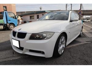 BMW 3シリーズ 320iツーリング Mスポーツパッケージ 外ナビ フルセグ タイミングチェーン サンルーフ スマートキー プッシュスタート HIDヘッドライト パワーシート