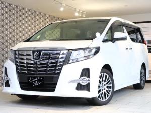 トヨタ アルファード S Cパケ サンルーフ 11型ナビ 後席モニター プリクラ