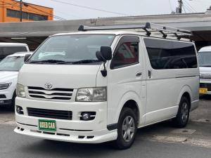 トヨタ ハイエースバン ロングDX 4WD ディーゼルターボ キーレス エアコン パワステ パワーウインド