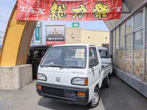 ホンダ アクティトラック SDX 5速マニュアル 三方開 ホワイト 軽トラック