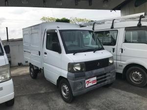 三菱 ミニキャブトラック ベースグレード パネルバンタイプ オートマ 車検整備付