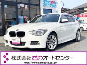 BMW 1シリーズ 116i Mスポーツ アンドロイドモニター GooglePlay搭載 wifi BTオーディオプッシュスタート スマートキー2個 Mスポーツ17インチアルミ ETC