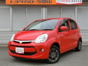 トヨタ パッソ 1.0 X Gパッケージ 全国対応保証付き スマートキ-