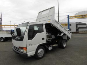 いすゞ エルフトラック フルフラットローダンプ3t積み4ナンバー強化