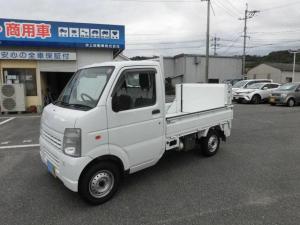 スズキ キャリイトラック  3方開き ヤシマ垂直パワーゲイト エアコン パワステ 5速マニュアル 2WD
