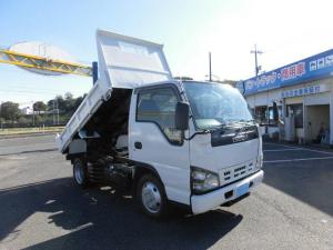 いすゞ エルフトラック 強化ダンプ4WD5速全低床2トンフル装備