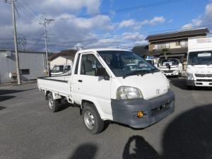 トヨタ ライトエーストラック ロングジャストローDX 4WD 5速マニュアル エアコン パワステ ABS 修復歴なし 平ボデイ 850kg積み