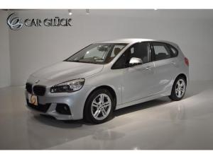 BMW 2シリーズ 218dアクティブツアラー Mスポーツ ワンオーナー インテリジェントセーフティ コンフォートPKG(パワーテールゲート コンフォートアクセス ライトPKG) 純正ナビ Bモニタ TVチューナー MスポーツAW LEDライト ETC 記録簿
