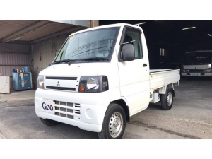 三菱 ミニキャブトラック  4WD パワステ エアコン 5MT車