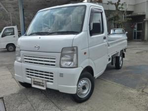 マツダ スクラムトラック KCスペシャル 4WD 5MT エアコン パワステ 4L付
