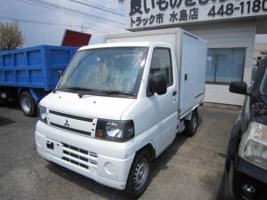 三菱 ミニキャブトラック 冷蔵冷凍車 両スライドドア -5度 オートマ エアコン